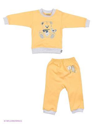 Комплект одежды Лео. Цвет: желтый