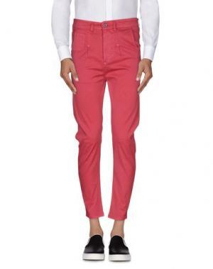 Повседневные брюки EXIBIT. Цвет: пурпурный