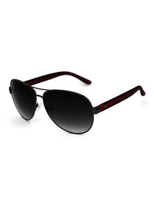 Cолнцезащитные очки Exenza. Цвет: черный, красный