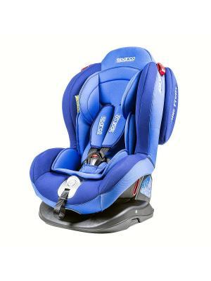 Детское кресло Sparco F2000K BL. Цвет: синий