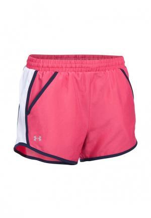 Шорты спортивные Under Armour. Цвет: розовый