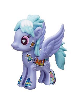 Базовая пони Создай свою Hasbro. Цвет: фиолетовый, голубой