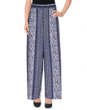 Повседневные брюки JACQUELINE de YONG. Цвет: темно-синий