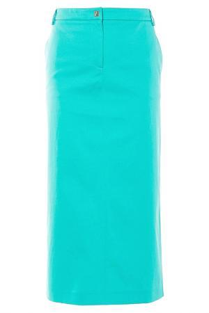Юбка Versace Collection. Цвет: зеленый