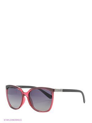 Солнцезащитные очки Polaroid. Цвет: бордовый
