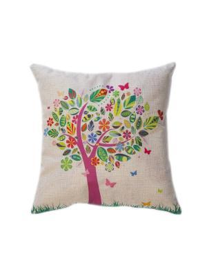 Декоративная подушка La Pastel. Цвет: бежевый