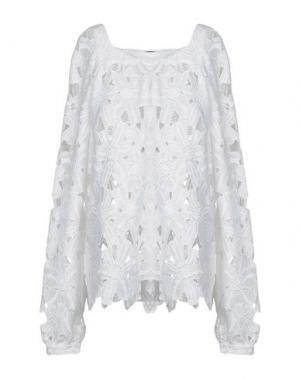 Блузка SLY010. Цвет: белый