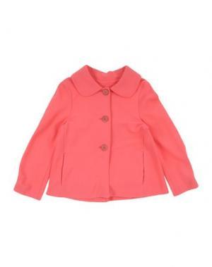 Легкое пальто MIMISOL. Цвет: коралловый