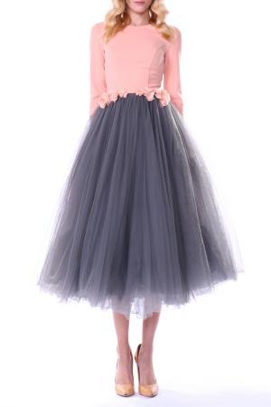 Платье Isabel Garcia. Цвет: grey, pink