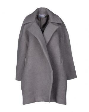Пальто CHARLIE MAY. Цвет: светло-серый