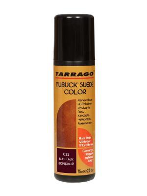 Краситель для замши и нубука, NUBUCK COLOR, флакон, 75мл. (11 бордовый) Tarrago. Цвет: бордовый