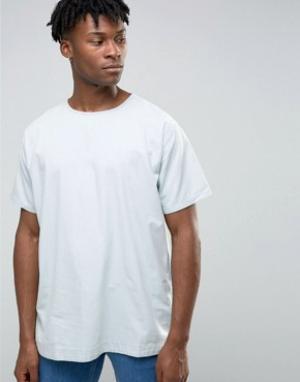 Waven Джинсовая футболка. Цвет: синий