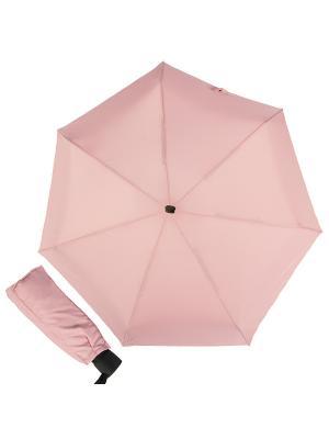 Зонт складной Eclair Cocoa Guy De Jean. Цвет: розовый