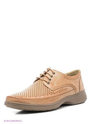 Ботинки Marko. Цвет: бежевый
