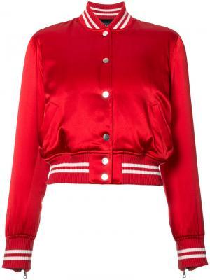 Спортивная куртка Amiri. Цвет: красный