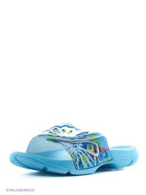 Пантолеты JOSS. Цвет: голубой