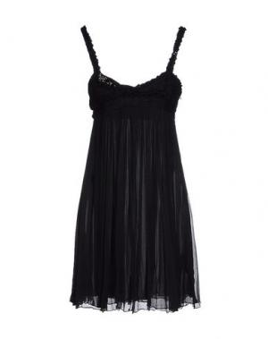 Короткое платье WE ARE REPLAY. Цвет: черный