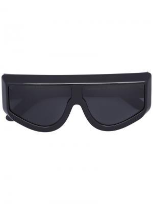 Солнцезащитные очки Rizzo Wanda Nylon. Цвет: чёрный
