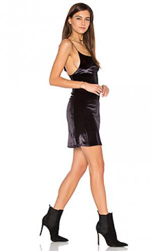 Платье-майка cord Lisakai. Цвет: черный