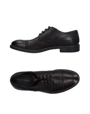 Обувь на шнурках XAGON MAN. Цвет: темно-коричневый