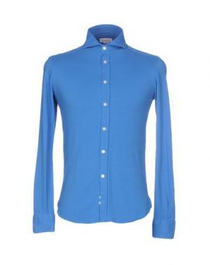 Pубашка BRANCACCIO C.. Цвет: лазурный