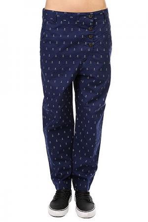 Штаны прямые женские  Overlap Pant Patriot Colour Wear. Цвет: синий
