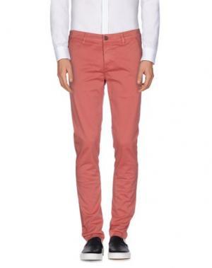 Повседневные брюки CAMOUFLAGE AR AND J.. Цвет: кирпично-красный