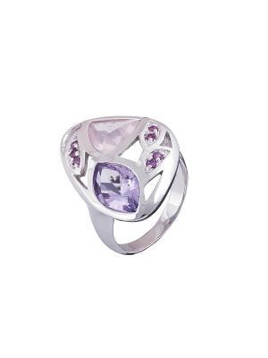 Кольцо Мастер Клио. Цвет: серебристый, фиолетовый, розовый