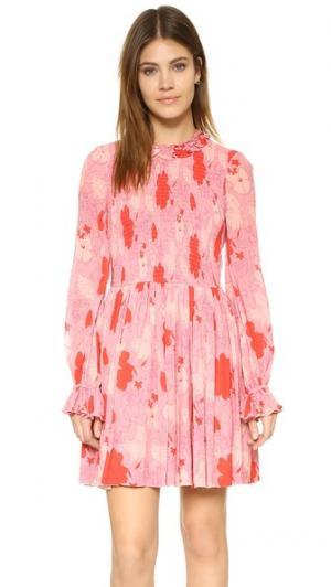 Платье Bernadette Jill Stuart. Цвет: ярко-красный