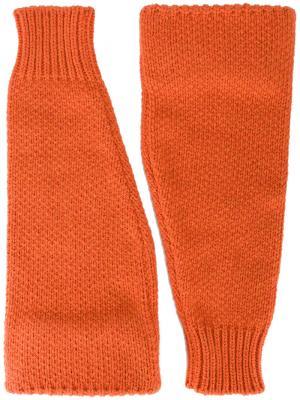 Трикотажные рукава Raf Simons. Цвет: жёлтый и оранжевый