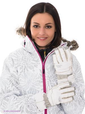 Перчатки Trespass. Цвет: белый
