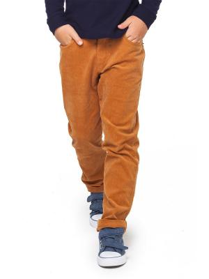 Вельветовые брюки VILATTE. Цвет: светло-коричневый