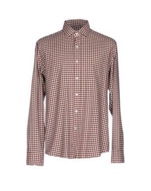 Pубашка SALVATORE PICCOLO. Цвет: баклажанный