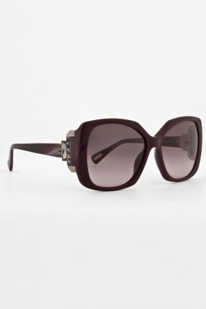Очки солнцезащитные Lanvin. Цвет: сливовый