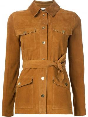 Куртка Safari Beau Souci. Цвет: коричневый
