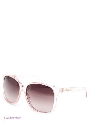 Солнцезащитные очки Enni Marco. Цвет: бледно-розовый, бордовый