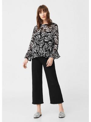 Блузка - CRIS Mango. Цвет: черный