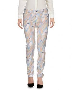 Повседневные брюки LALA BERLIN. Цвет: небесно-голубой
