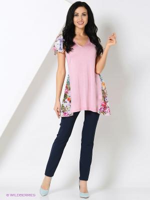Туника Milana Style. Цвет: розовый