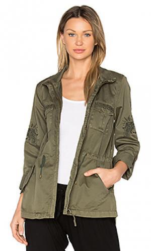 Куртка ceri Joie. Цвет: военный стиль