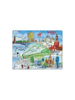 Пазл Кремль LARSEN AS. Цвет: белый, голубой, желтый, зеленый, оранжевый, синий