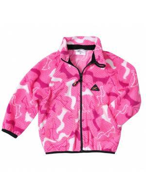 Комплект одежды ЛисФлис. Цвет: розовый