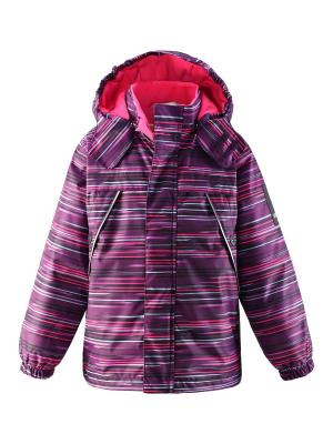 Куртка Lassie by Reima. Цвет: темно-фиолетовый