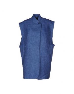 Легкое пальто WEILI ZHENG. Цвет: пастельно-синий
