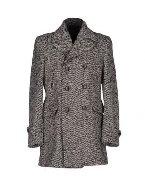 Пальто RICHARD. Цвет: серый