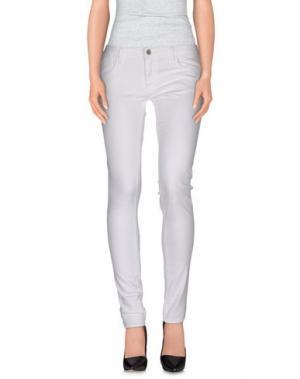 Повседневные брюки LE TEMPS DES CERISES. Цвет: белый