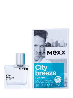City Breeze Man Туалетная вода, 30 мл MEXX. Цвет: прозрачный
