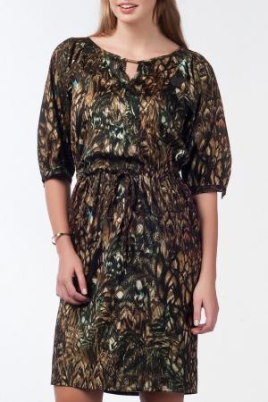 Платье NARAMAXX. Цвет: мультицвет