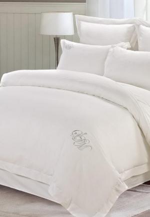 Комплект постельного белья Семейный Sofi De Marko. Цвет: белый