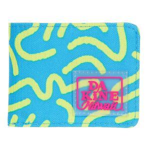 Кошелек  Talus Wallet Psyched Dakine. Цвет: голубой,светло-желтый